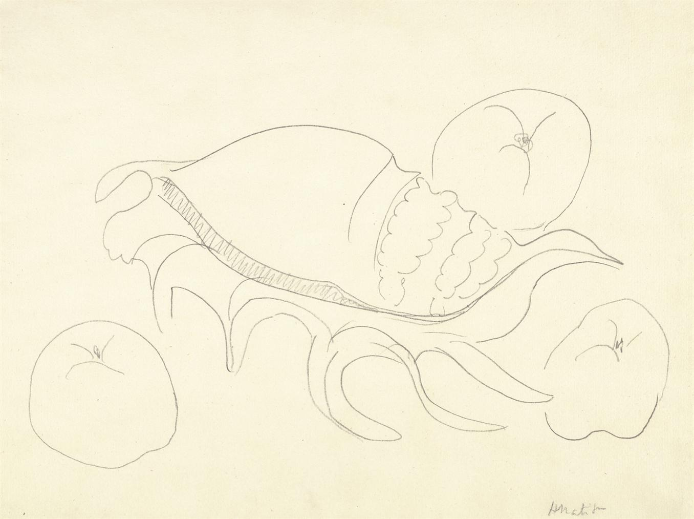 Henri Matisse-Coquillage Et Fruits-1940