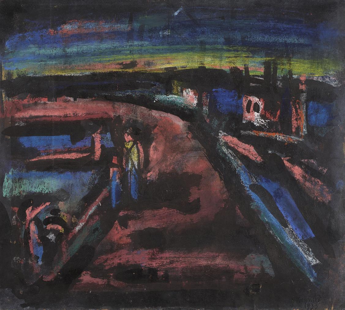 Georges Rouault-Des Boqueteaux Chetifs Du Chemin De Cythere-1930