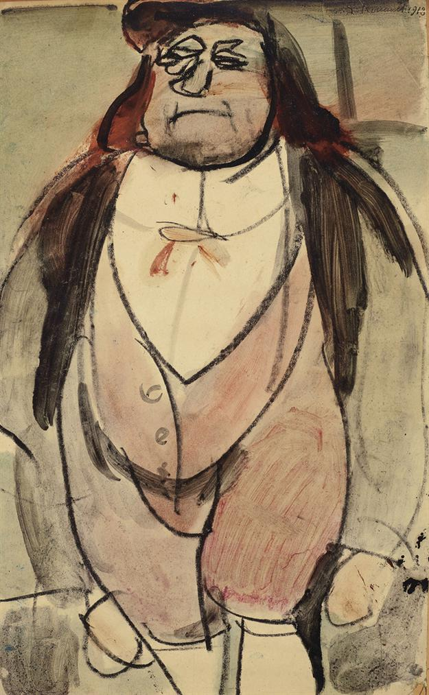 Georges Rouault-Laquais (Les Yeux Ouverts)-1913