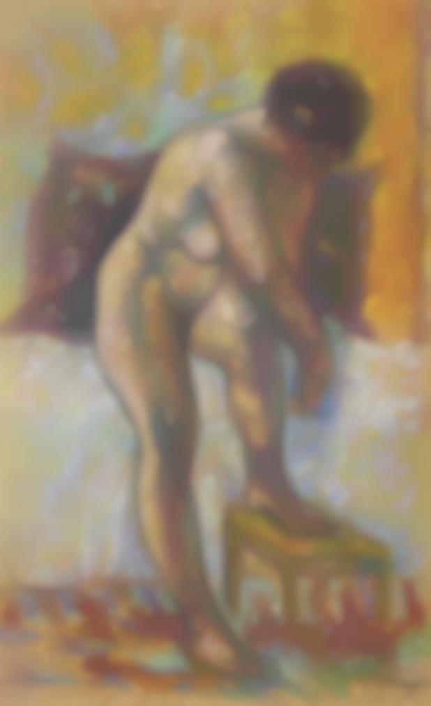 Henri Charles Manguin-Nu A La Toilette-1904