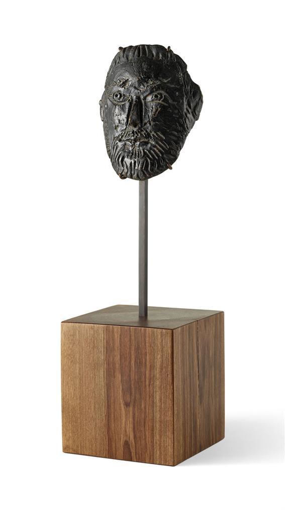 Pablo Picasso-Visage Dhomme Barbu-1951