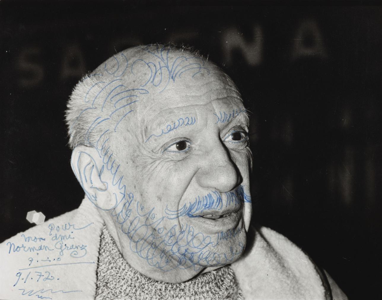 Pablo Picasso-Portrait De Picasso-1972