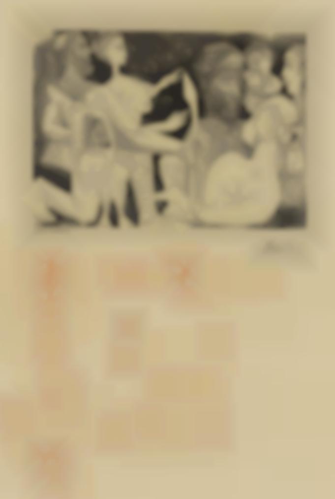 Pablo Picasso-Esquisse-1969