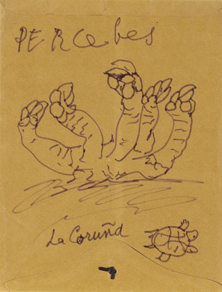 Pablo Picasso-Percebes, La Coruna-1970