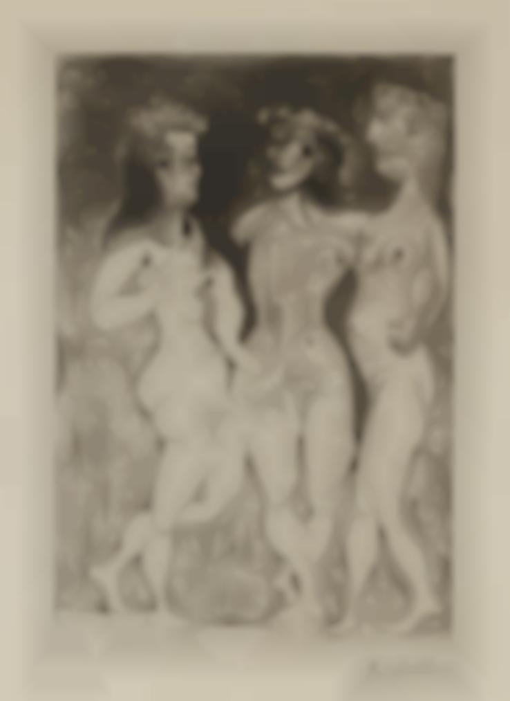 Pablo Picasso-Trois Femmes-1938