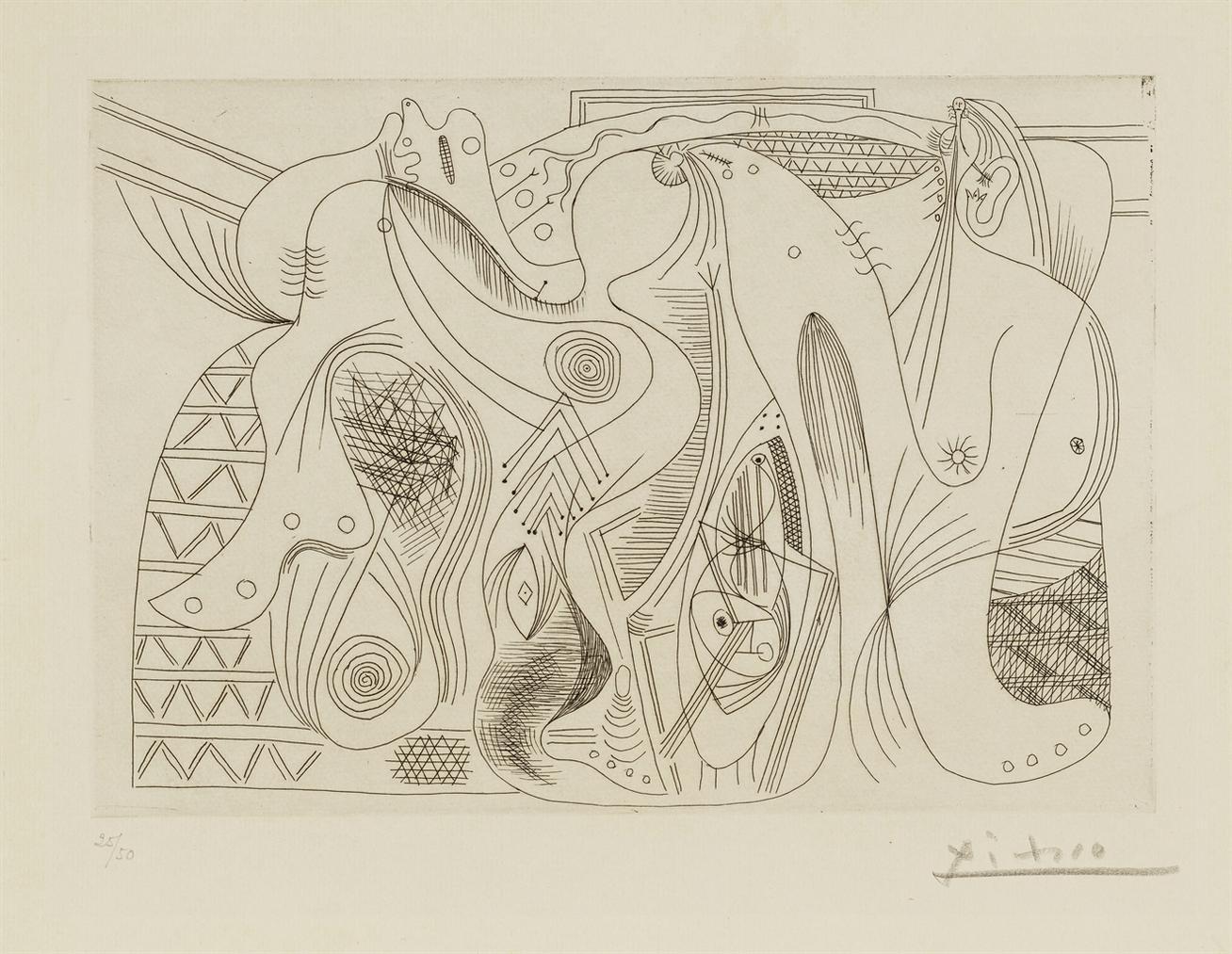 Pablo Picasso-Figures-1927