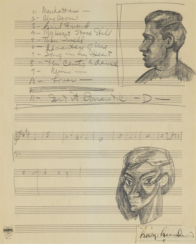 George Gershwin - Sketch For Porgy And Bess-