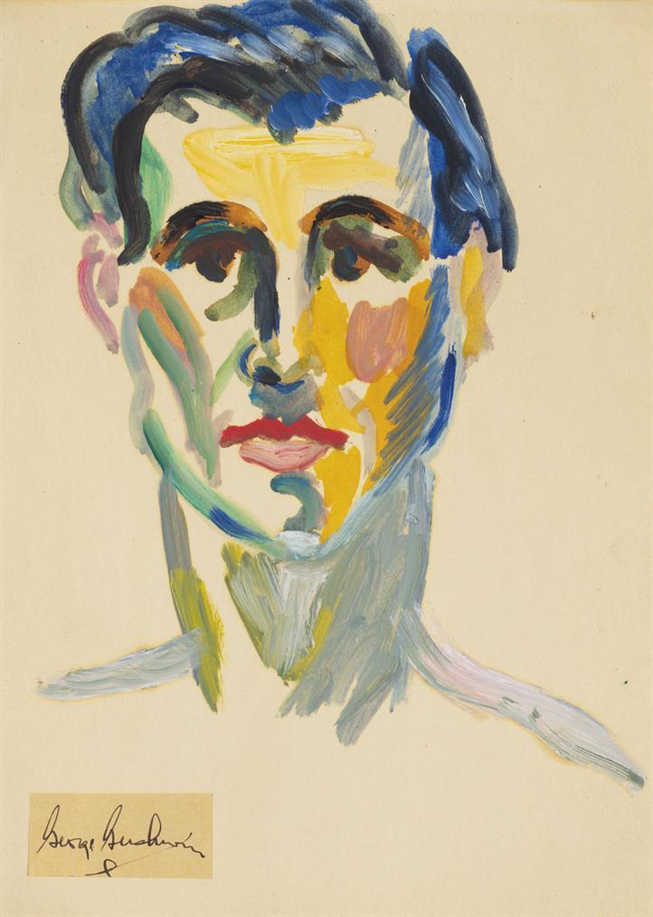 George Gershwin - Self-Portrait-
