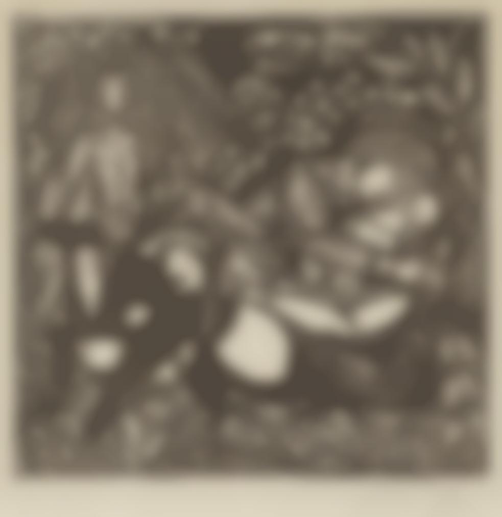 Raoul Dufy-Lamour, From Quatre Bois-1910