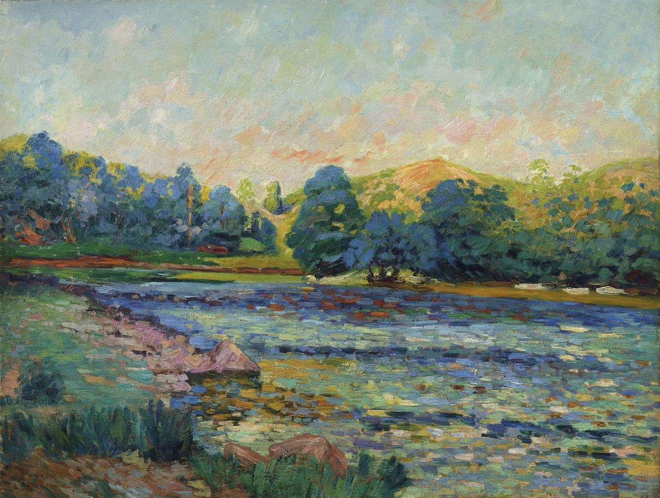 Jean-Baptiste Armand Guillaumin-Bords De Riviere-1905