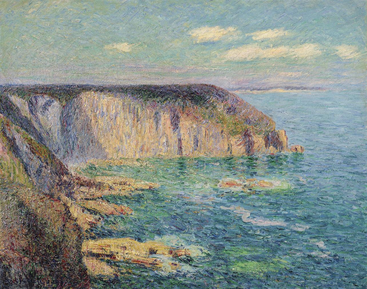 Gustave Loiseau-La Pointe Du Jars, Cap Frehel-1905