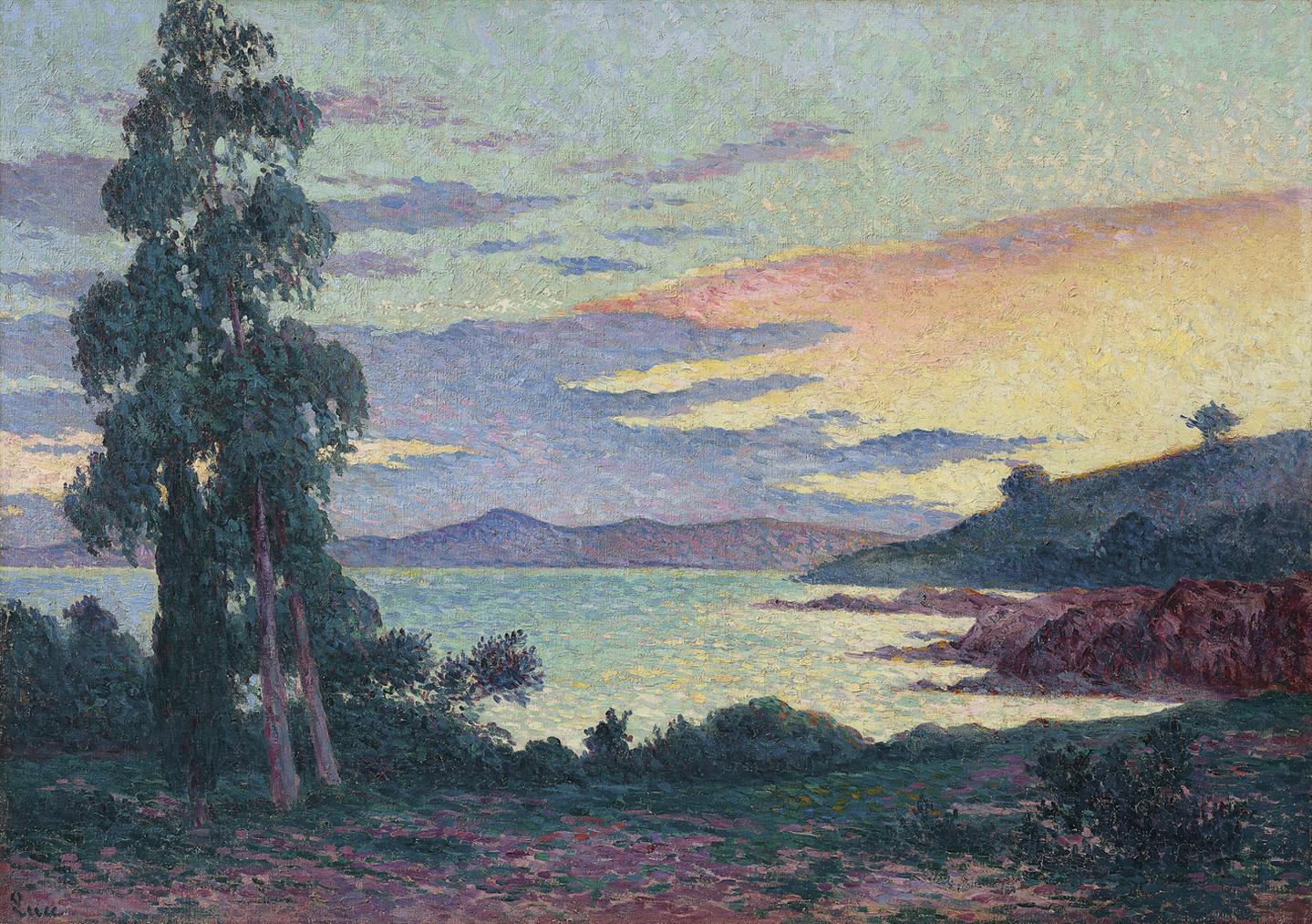 Maximilien Luce-La Fossette Saint-Clair, Pres Du Lavandou-1905