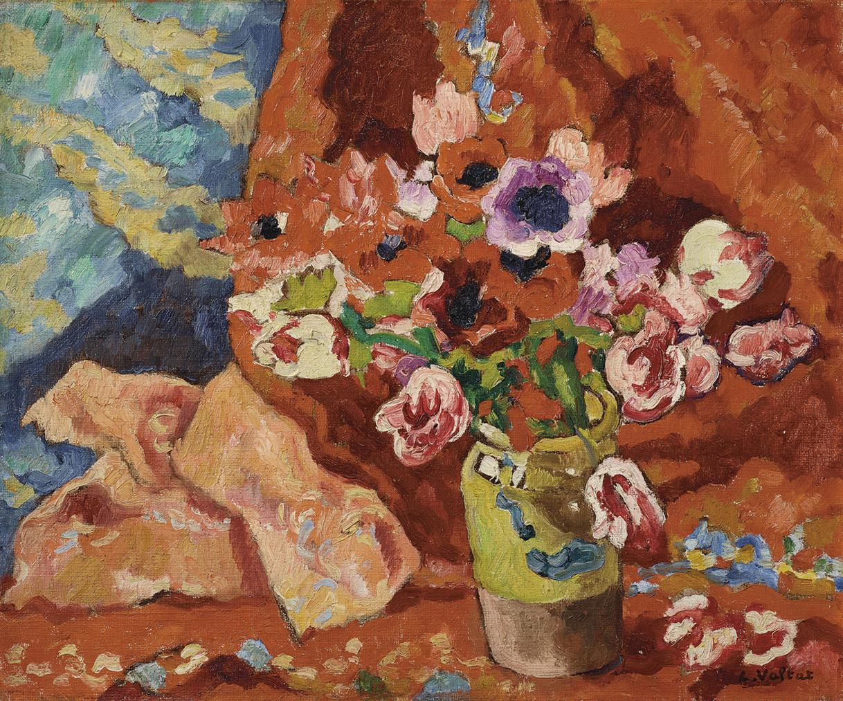 Louis Valtat-Fleurs-1935