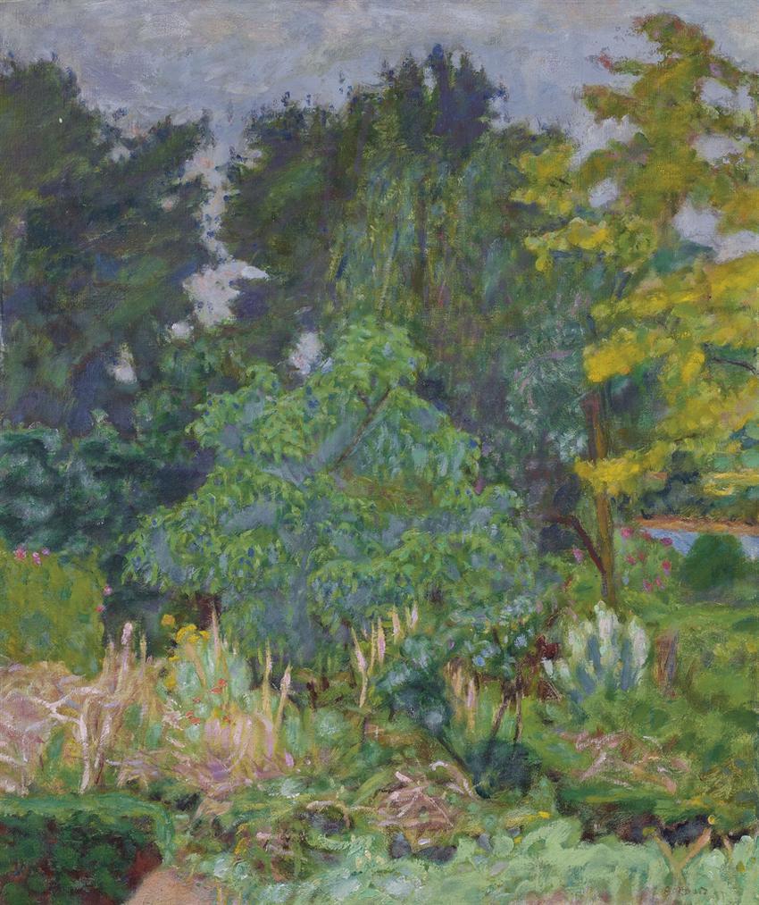 Pierre Bonnard-Le Jardin De Vernon-1927