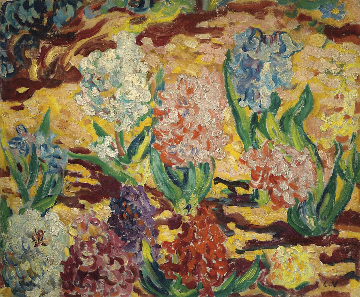 Louis Valtat-Les Jacinthes-