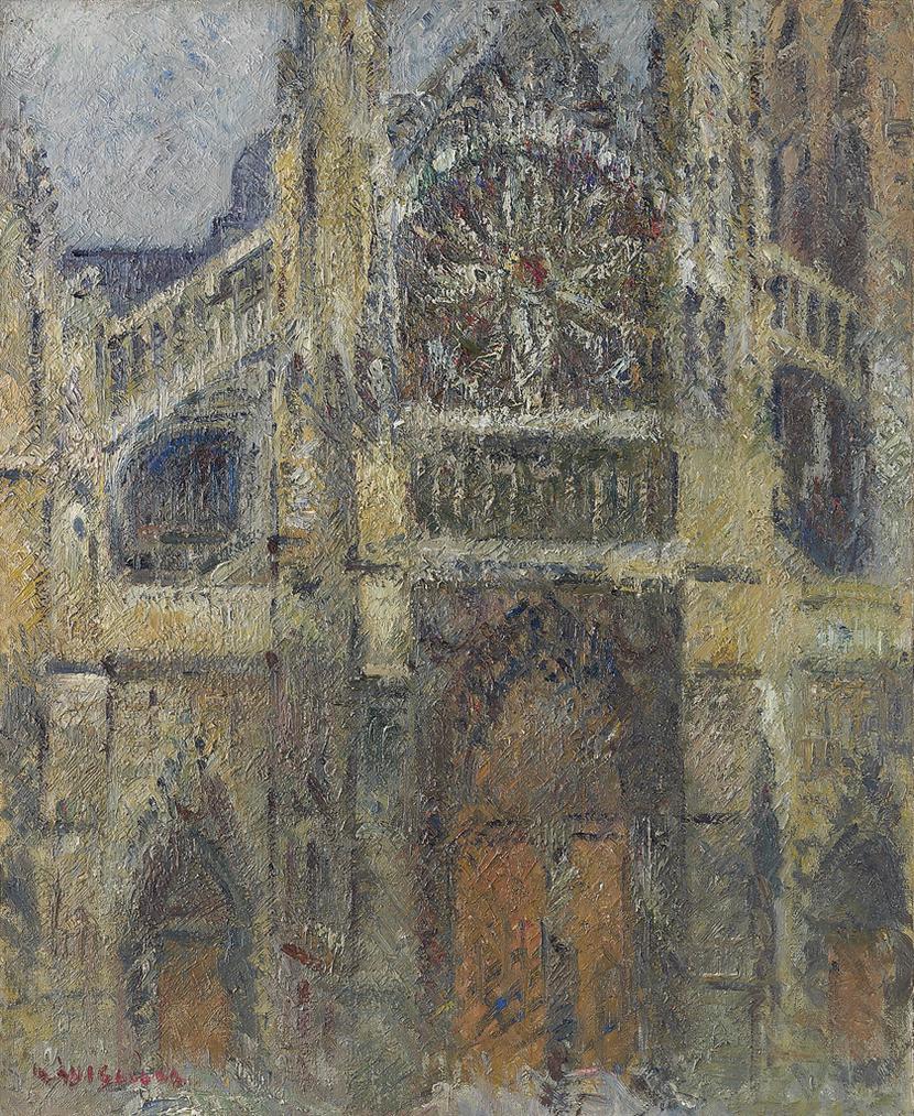 Gustave Loiseau-Leglise De Saint-Jacques, Dieppe-1927