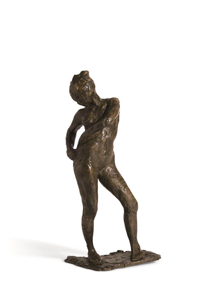 Edgar Degas-Danseuse Attachant Le Cordon De Son Maillot-1929