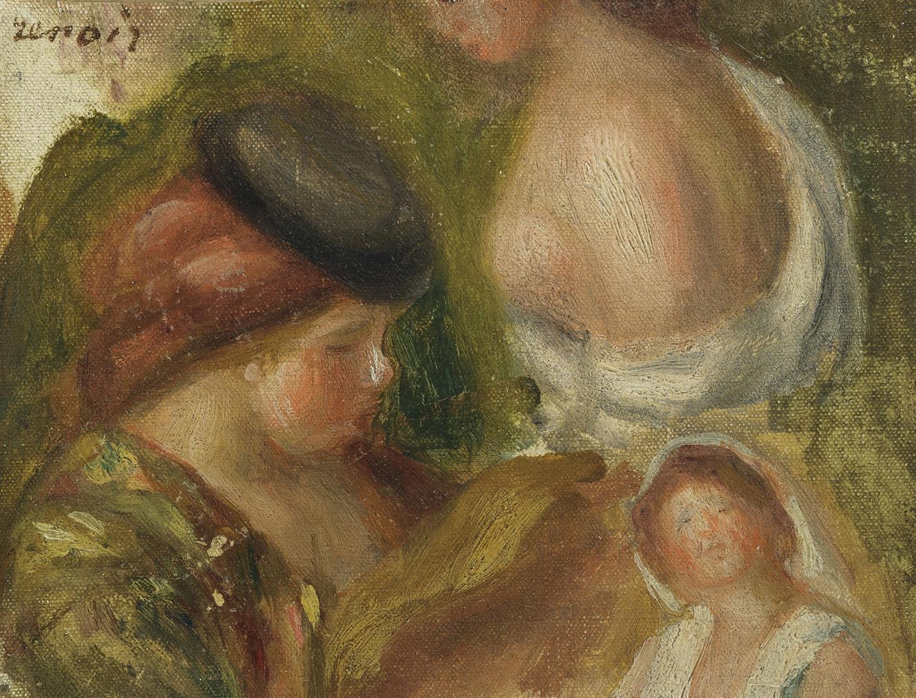 Pierre-Auguste Renoir-Etudes De Femmes-1898