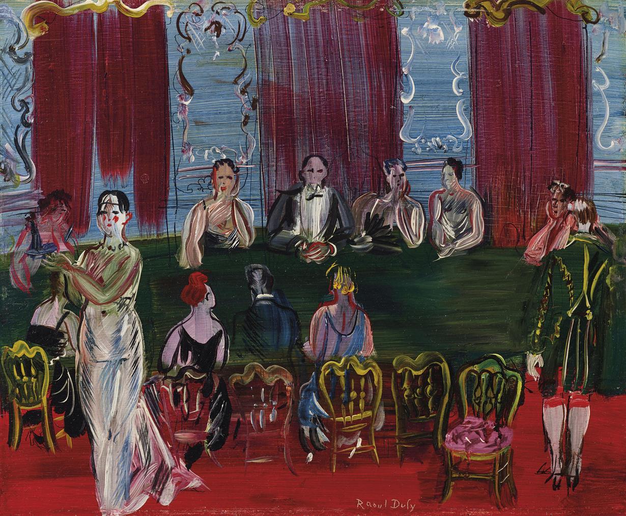 Raoul Dufy-Baccara-1938