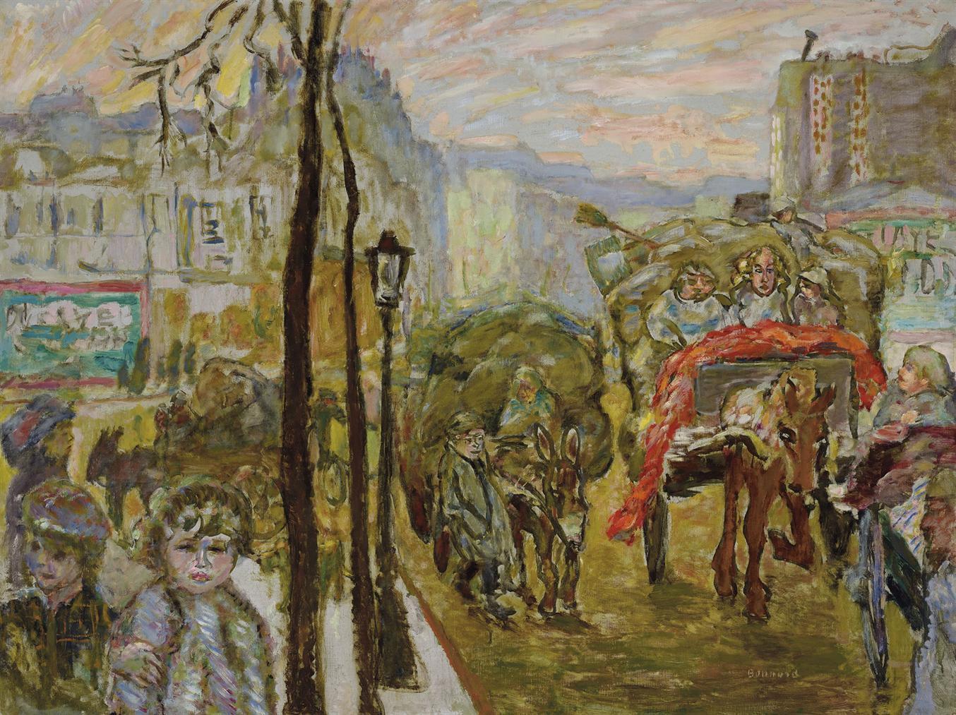 Pierre Bonnard-Les Chiffonniers Ou Le Retour Des Halles-1910