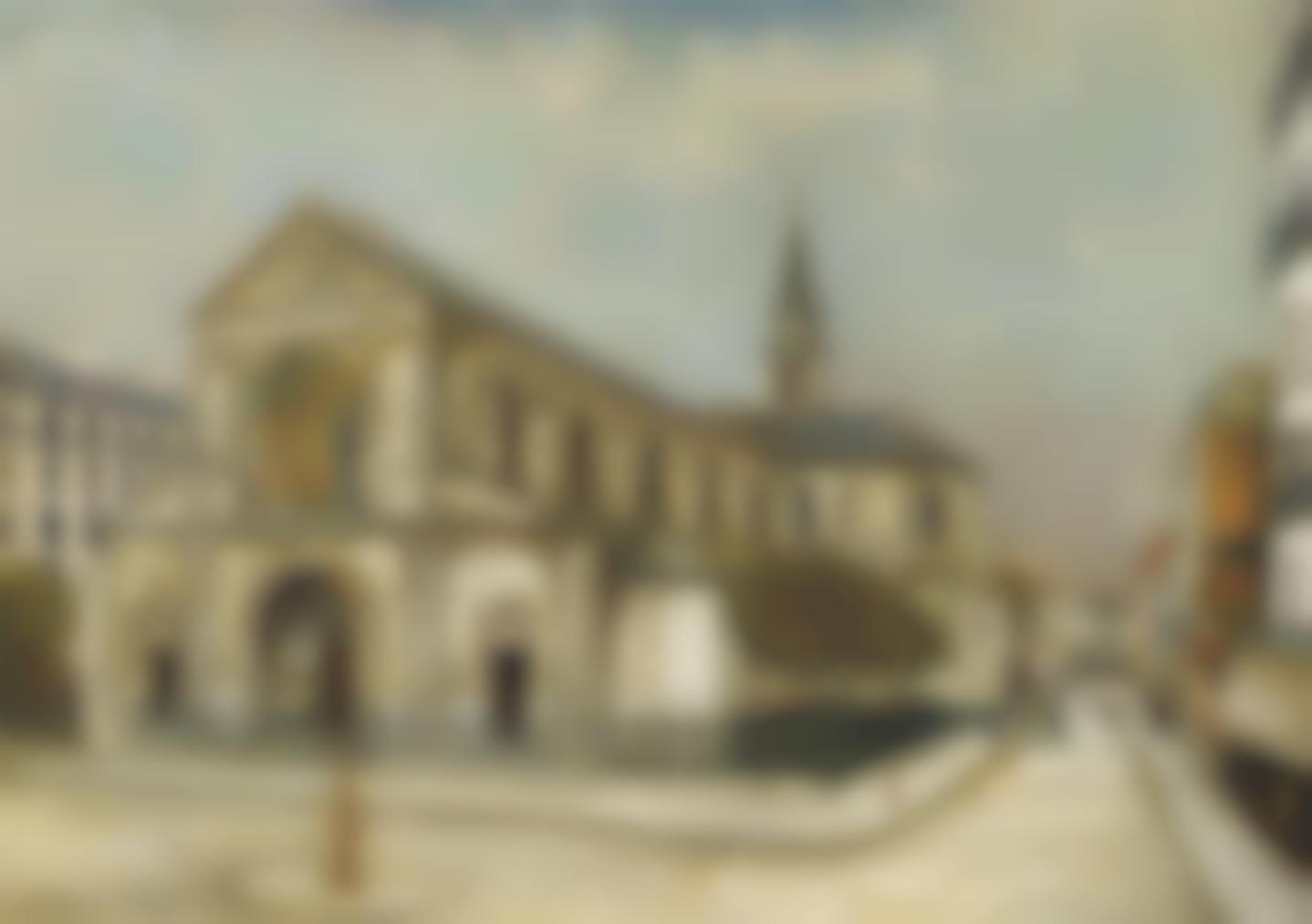 Maurice Utrillo-Eglise Notre-Dame De Clignancourt-1911