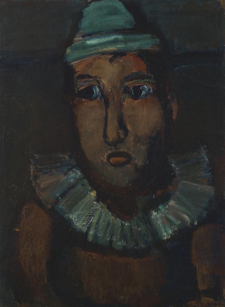 Georges Rouault-Clown-1919