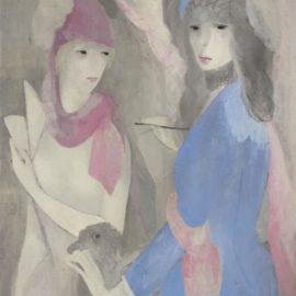Marie Laurencin-Femme Peintre Et Son Modele-1921