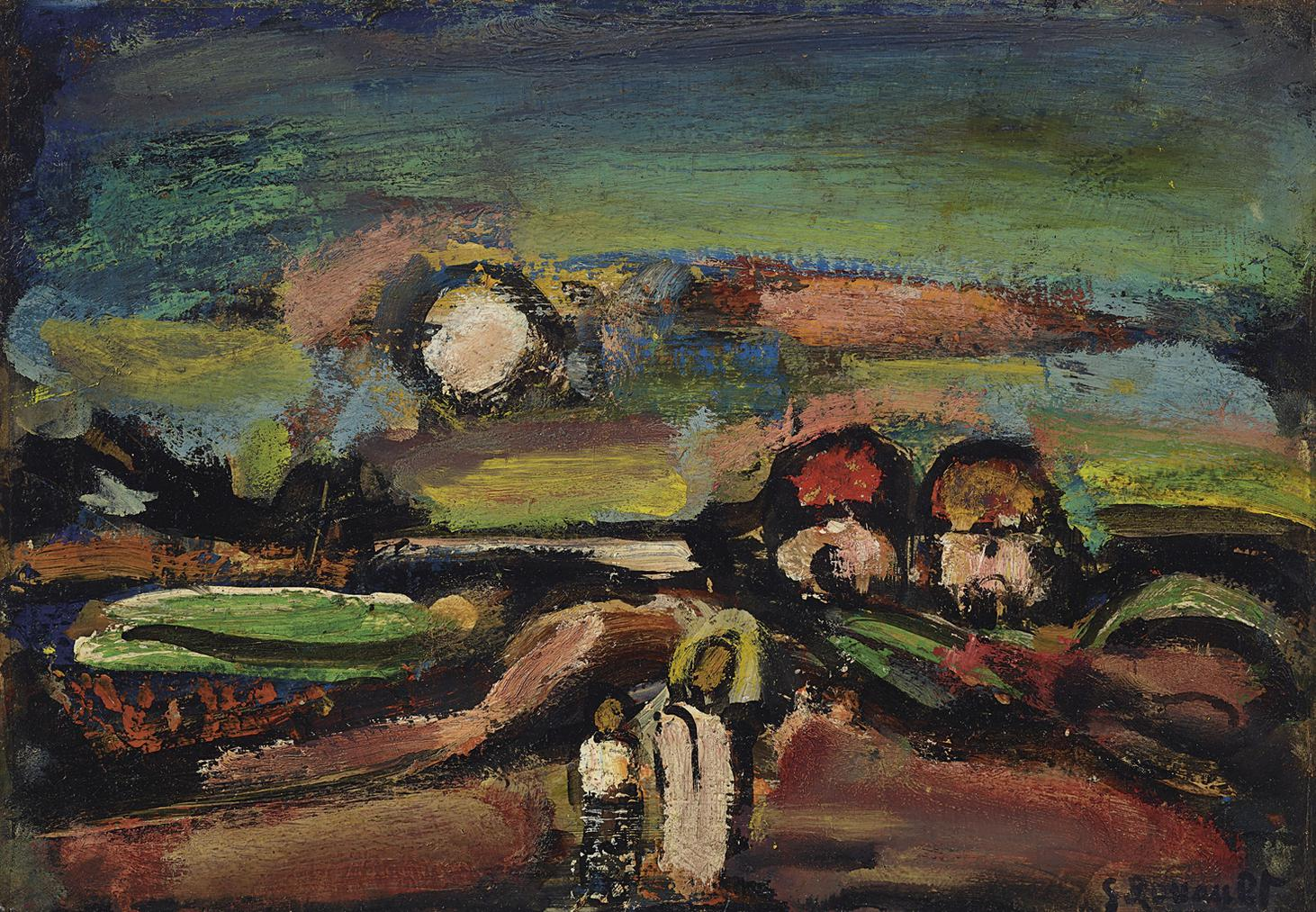 Georges Rouault-Crepuscule-1937