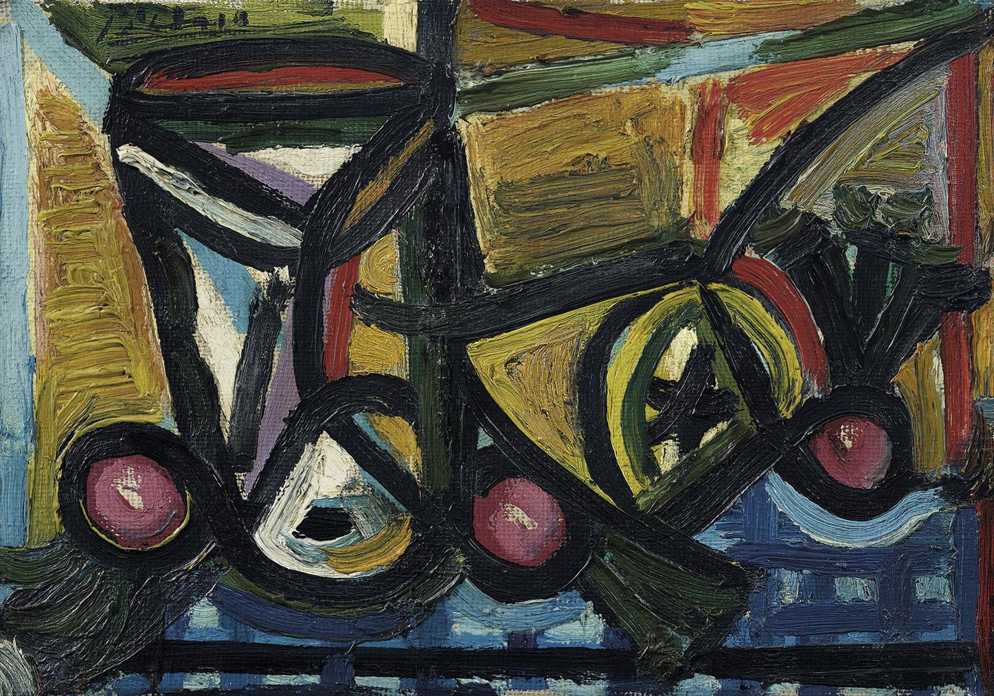 Pablo Picasso-Verre Et Citron-1944