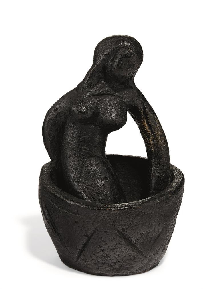 Marc Chagall-Femme Au Bain-1953