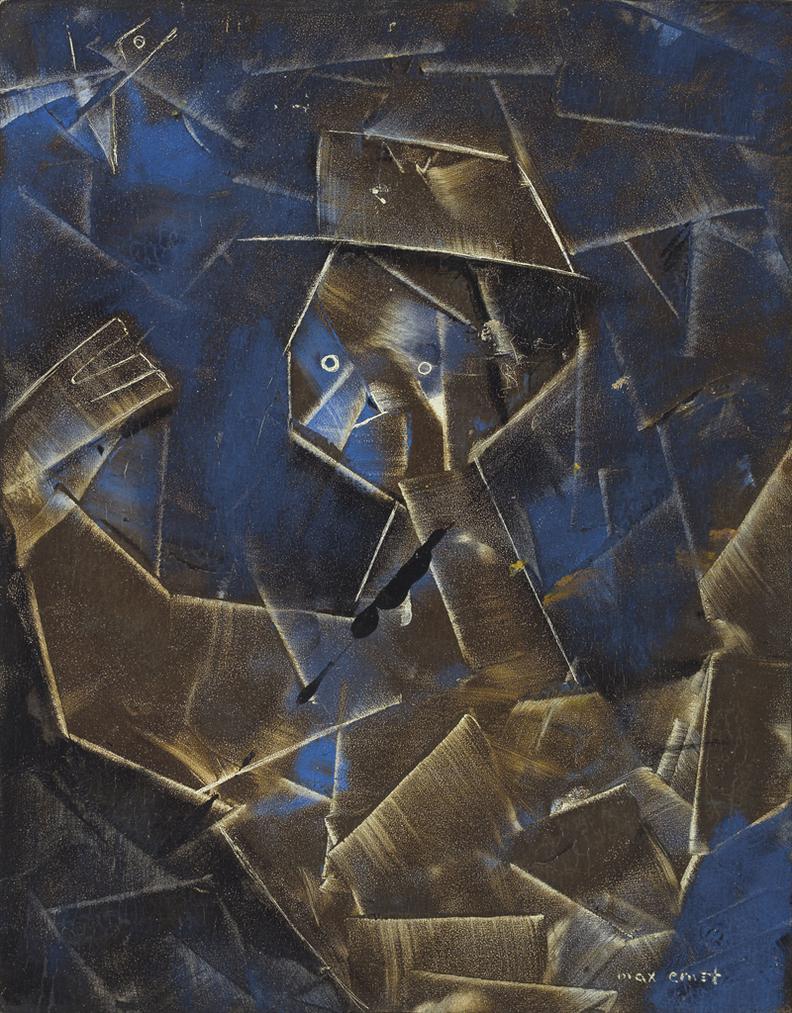 Max Ernst-Le Facteur Automne-1957