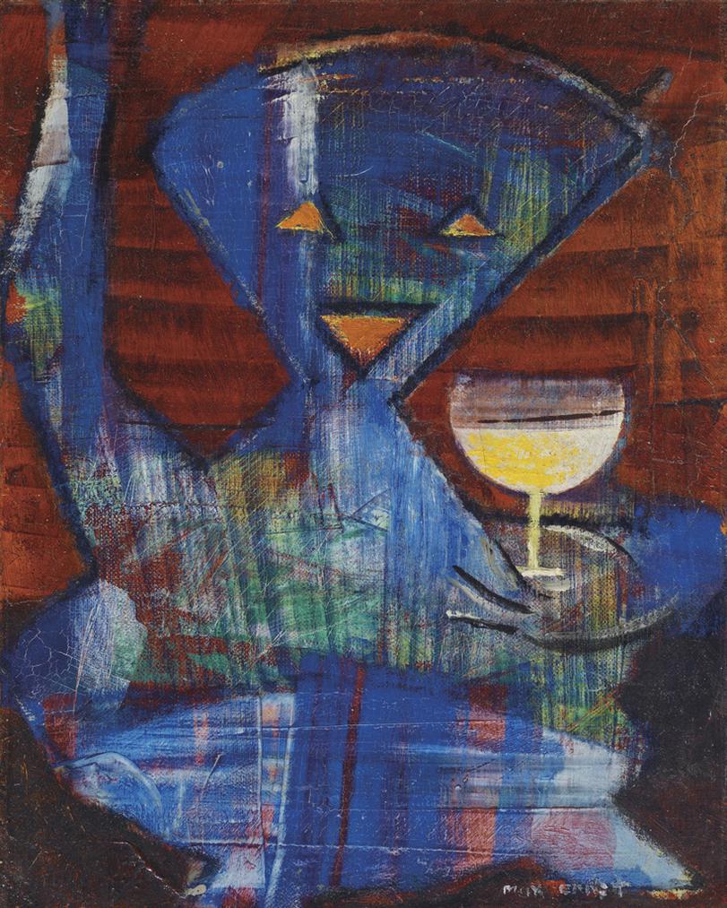 Max Ernst-Ohne Titel-1959