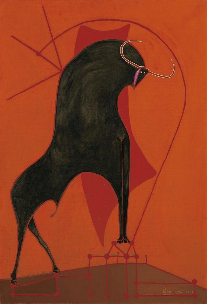 Oscar Dominguez-Taureau-1951