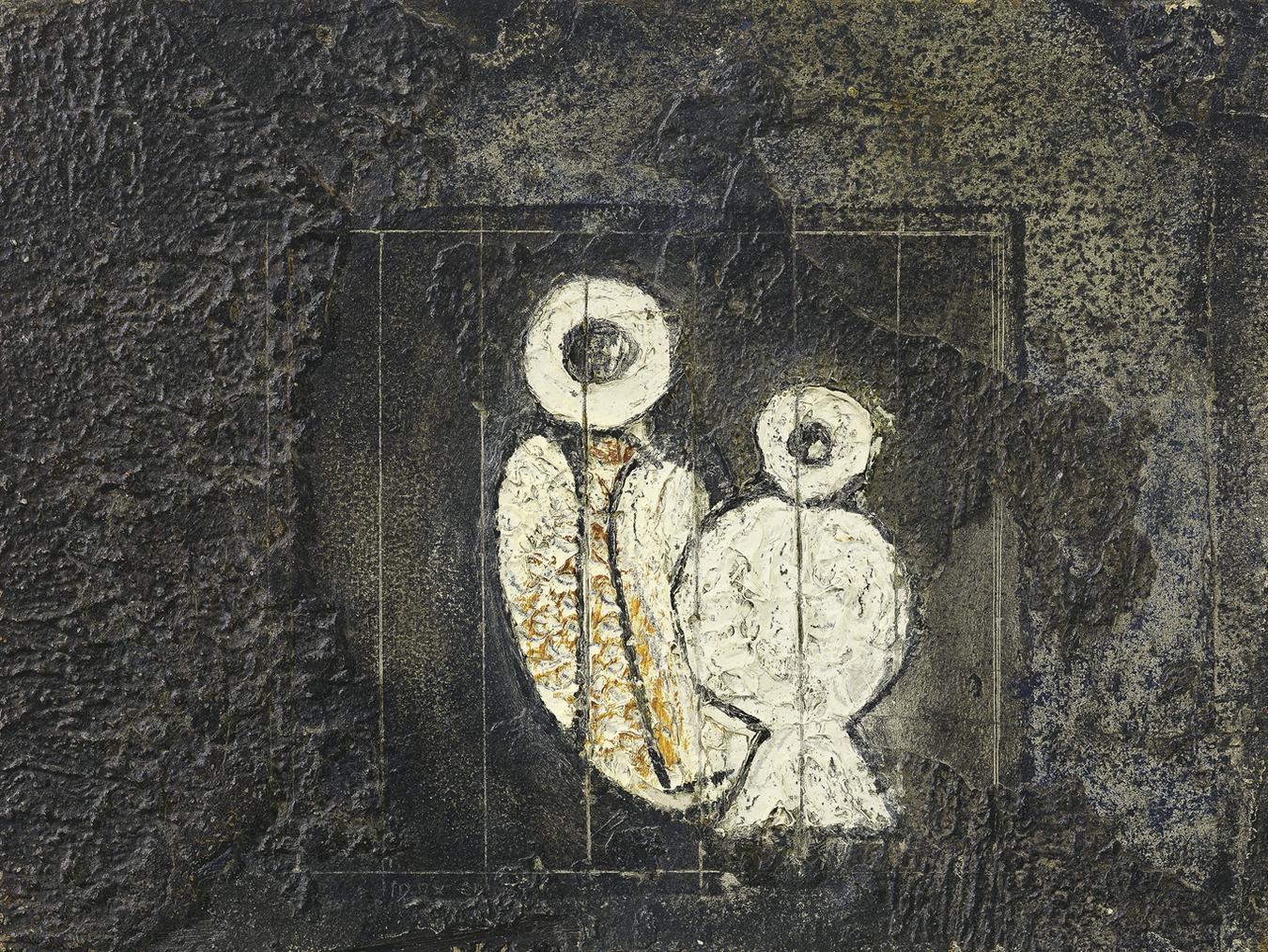 Max Ernst-Oiseaux En Cage-1926
