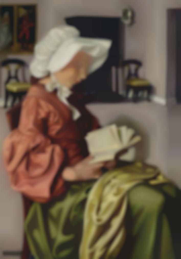 Tamara de Lempicka-La Liseuse I-1951
