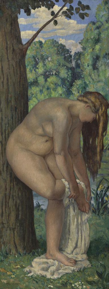 Albert Andre-Baigneuse-1909