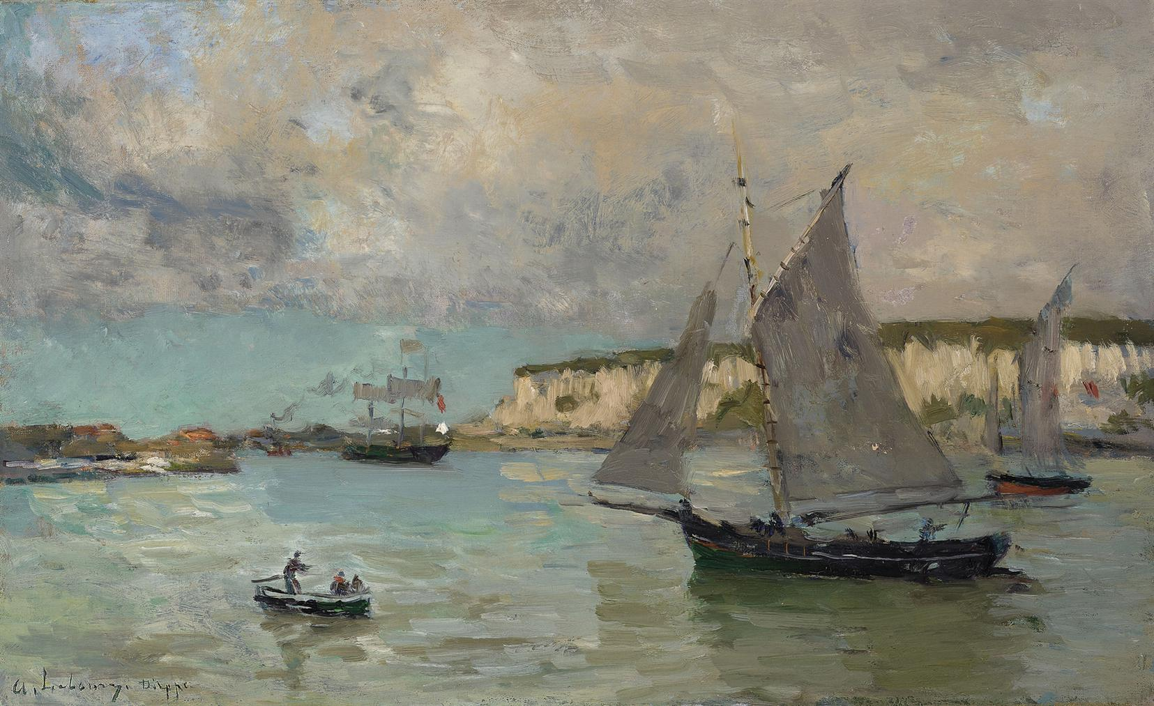 Albert Lebourg-Dieppe-1883