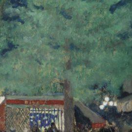 Edouard Vuillard-La Guinguette-1898