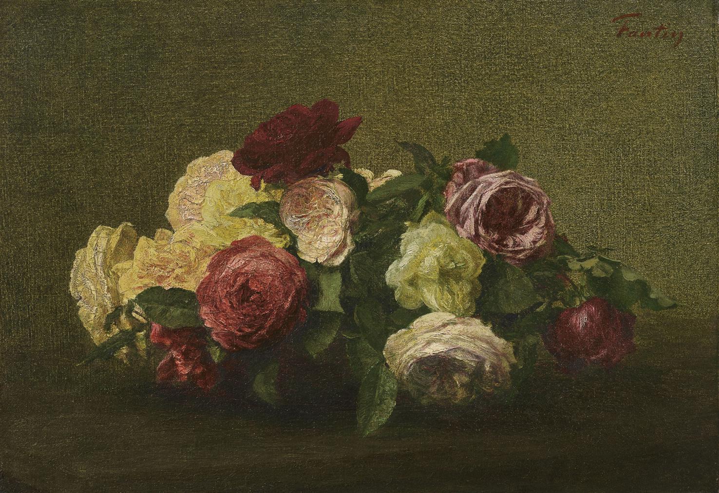 Henri Fantin-Latour-Roses-1887