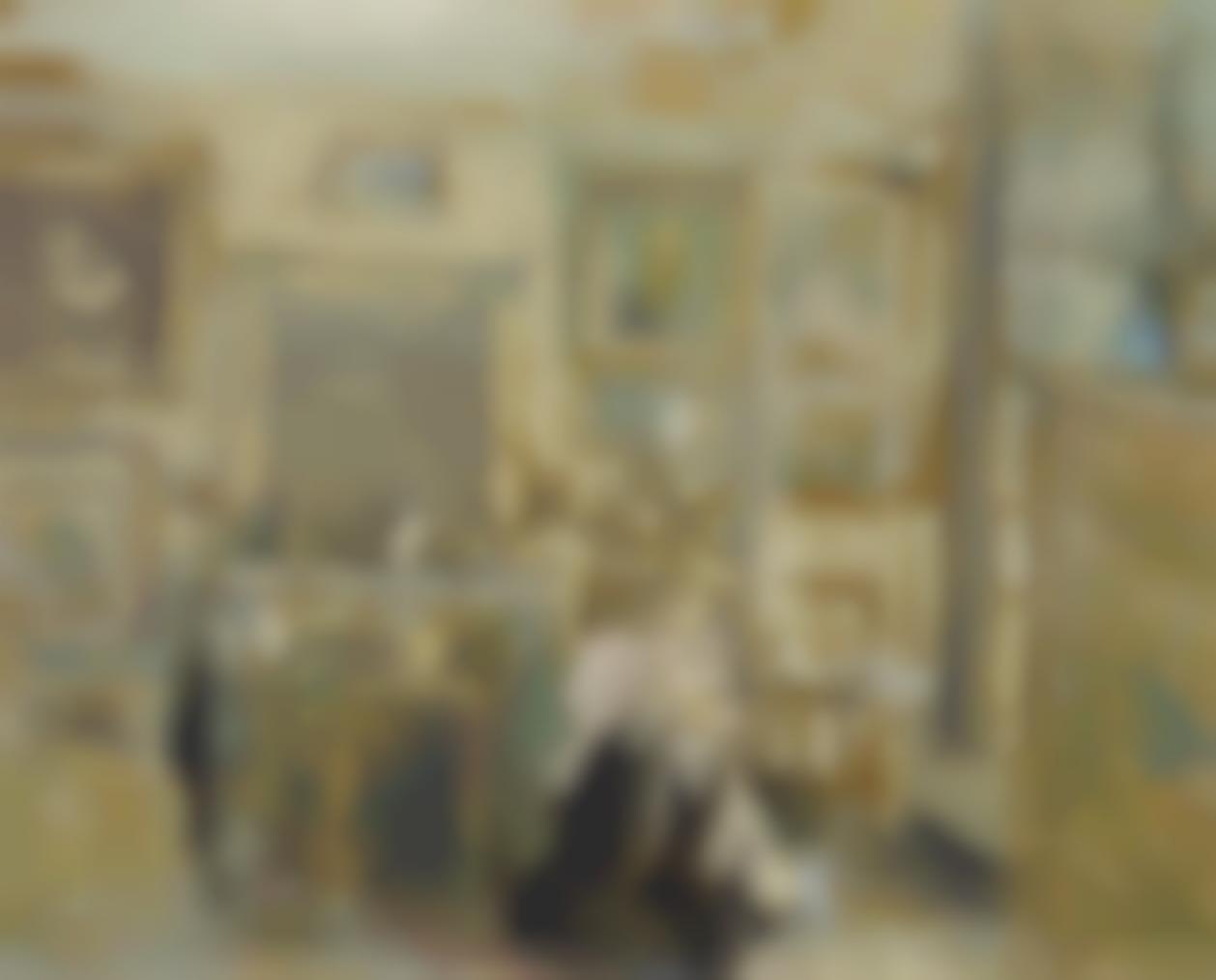 Edouard Vuillard-Femme Assise Dans Un Interieur Clair-1904