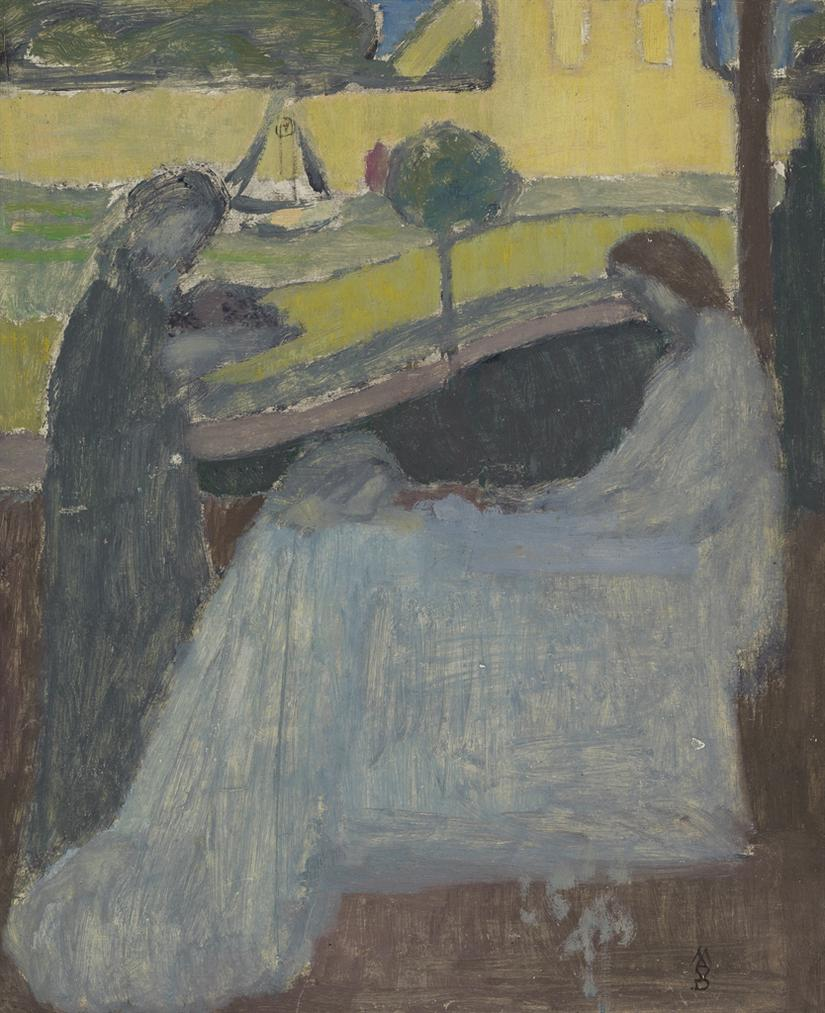 Maurice Denis-Marthe Et Marie (Premiere Pensee)-1896