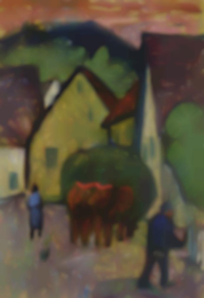 Gabriele Munter-Aus Siglingen An Du Jagst-1938
