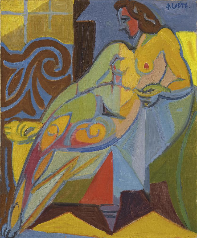 Andre Lhote-Nu Au Fauteuil-1935