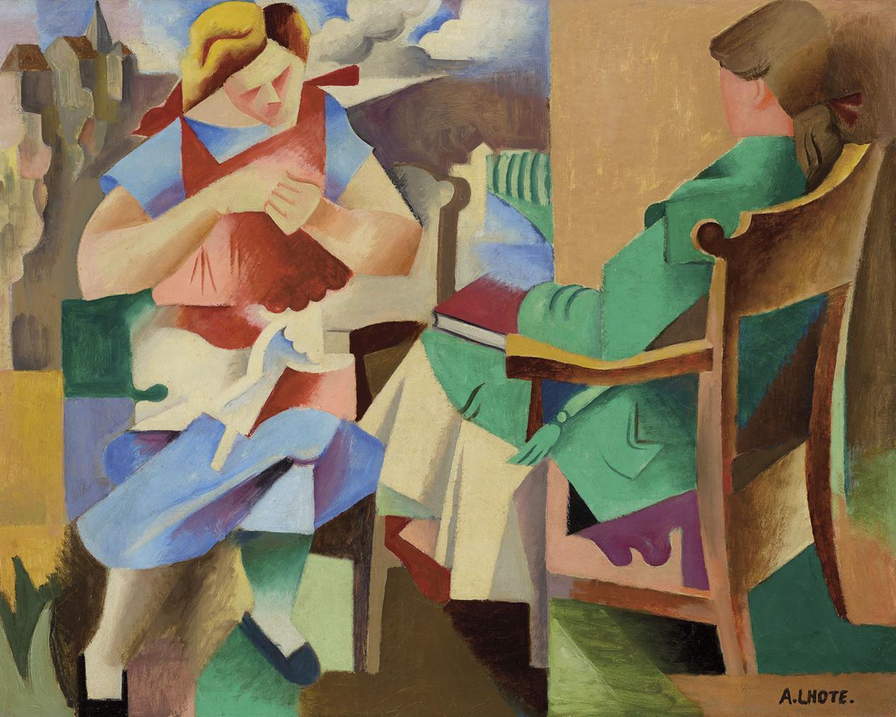 Andre Lhote-Vacances No. 2-1919