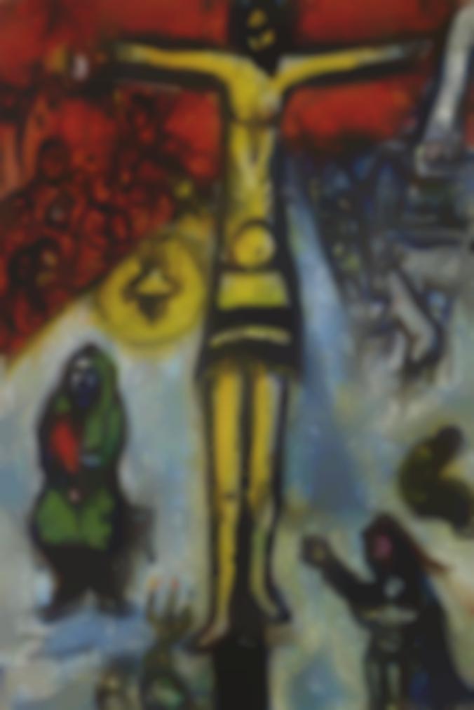 Marc Chagall-Esquisse Pour La Resurrection-1948