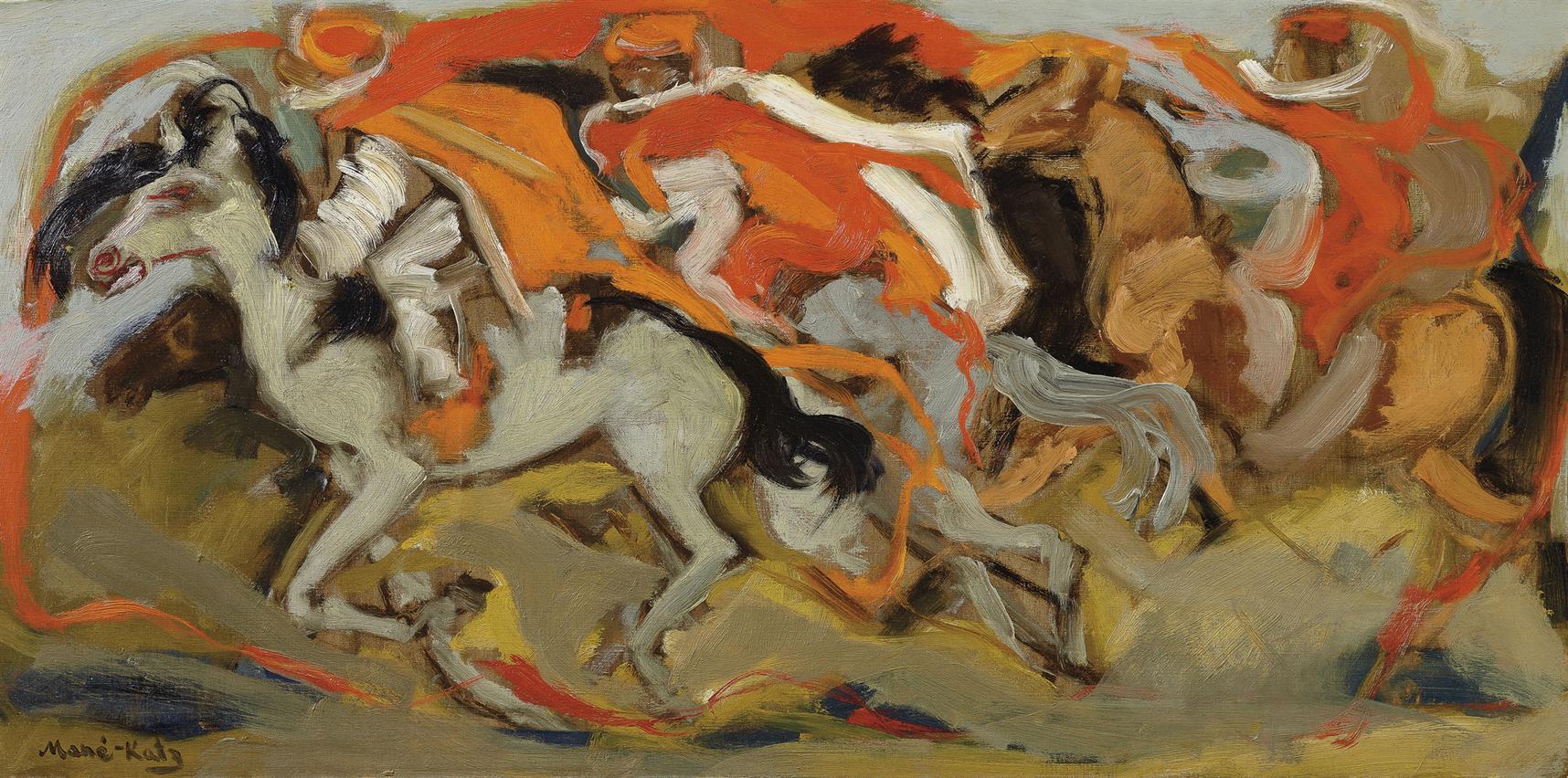 Mane-Katz-Bedouin Horses-