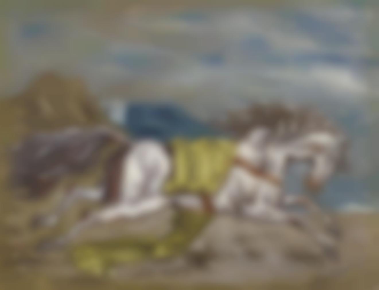 Giorgio de Chirico-Cavallo Fuggente-1938