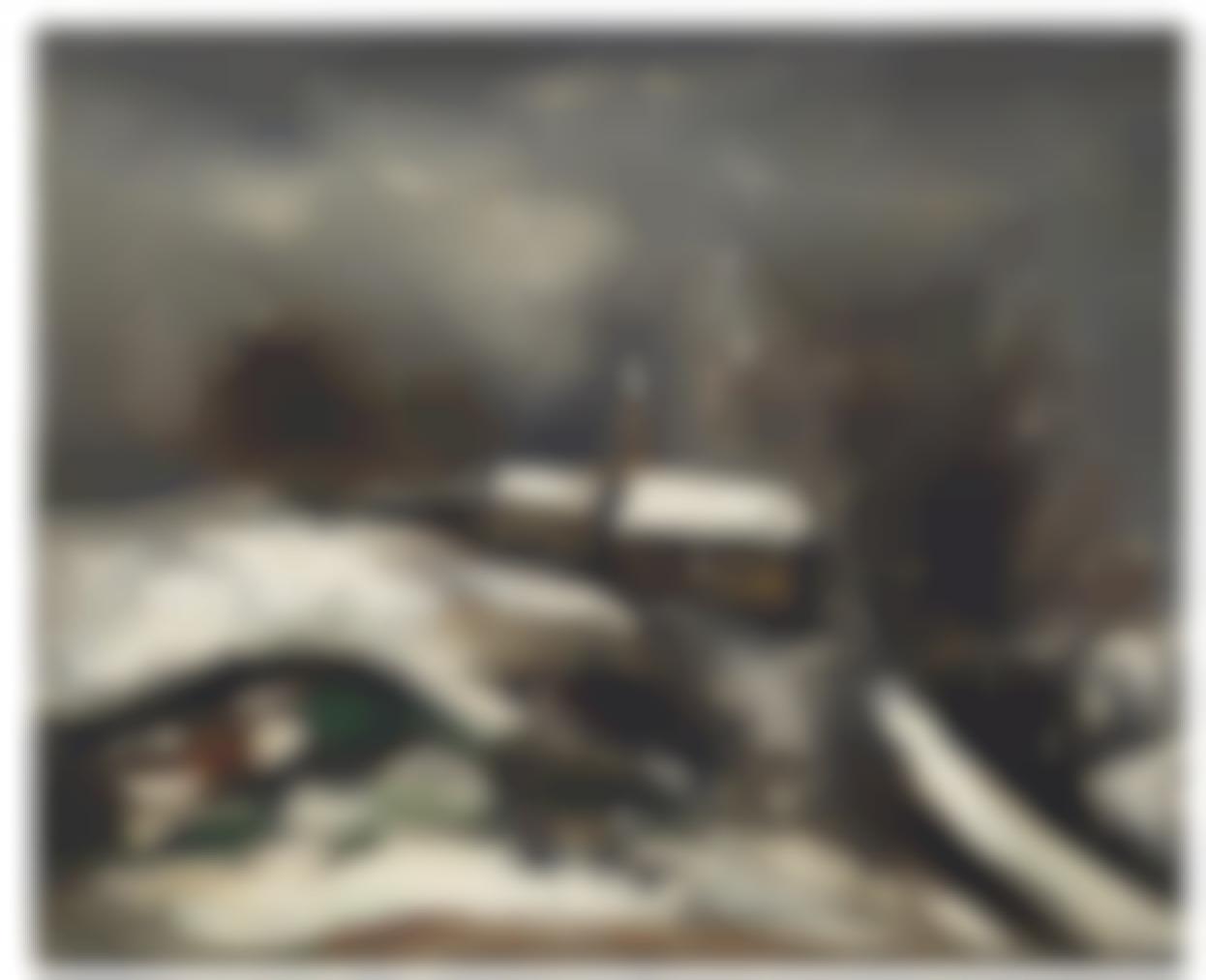 Maurice de Vlaminck-Paysage De Neige-