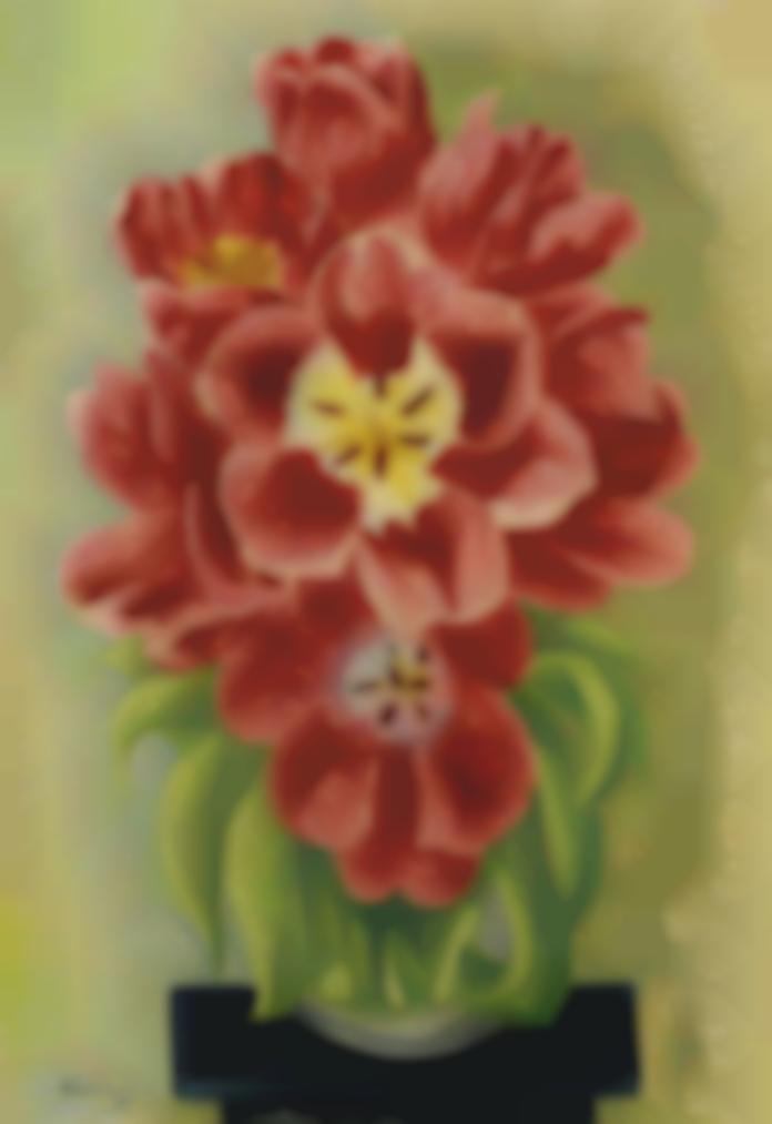 Moise Kisling-Bouquet De Fleurs-1930