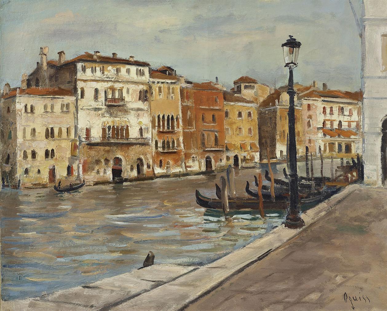Takanori Oguiss-Venezia, Canal Grande Vicino Alpescheria-1935
